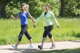 8 ประโยชน์ง่ายๆด้วยการเดินออกกำลังกาย