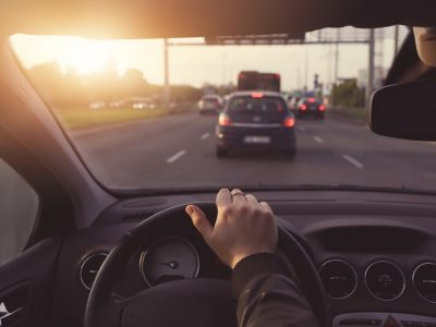 ปวดหลังปวดไหล่ขับรถ