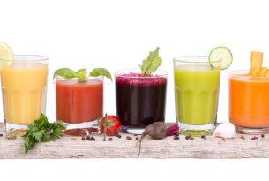 ประโยชน์ของน้ำผัก & น้ำผลไม้เพื่อสุขภาพ