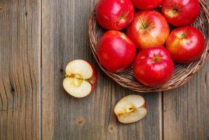 """""""ประโยชน์ของแอปเปิ้ล"""" แต่ละสี"""